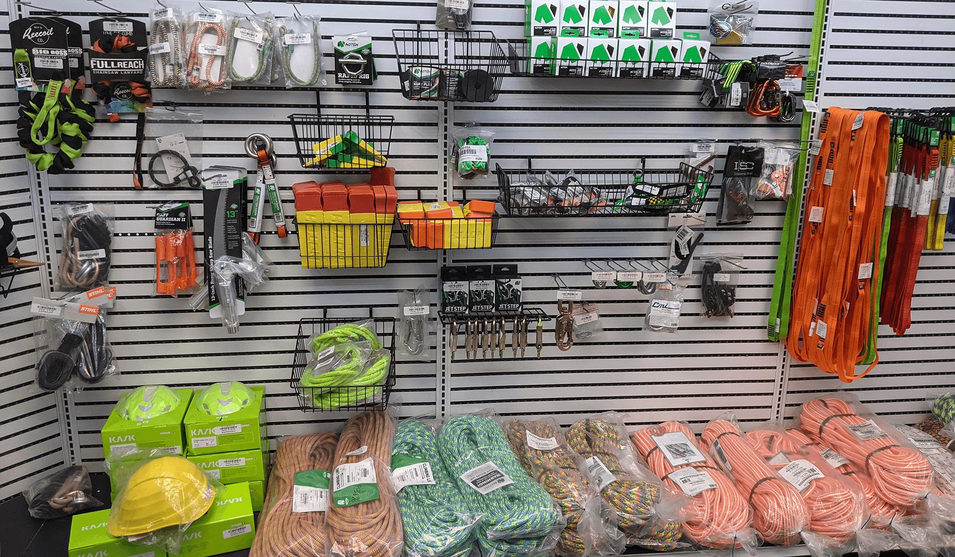 Arborist Equipment